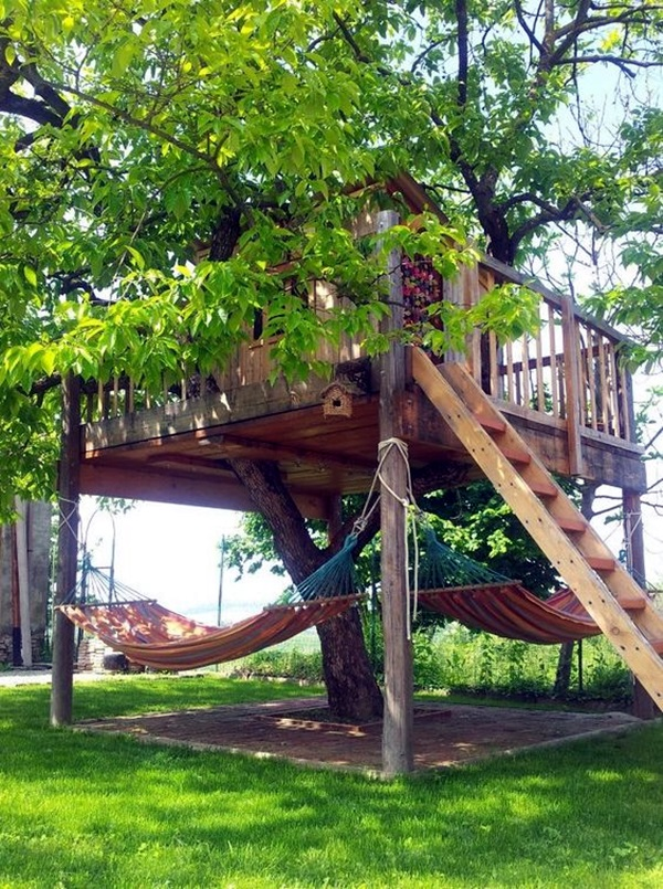 Chilling hammock Placement ideas to do it right (10)