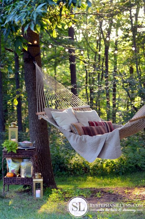 Chilling hammock Placement ideas to do it right (17)