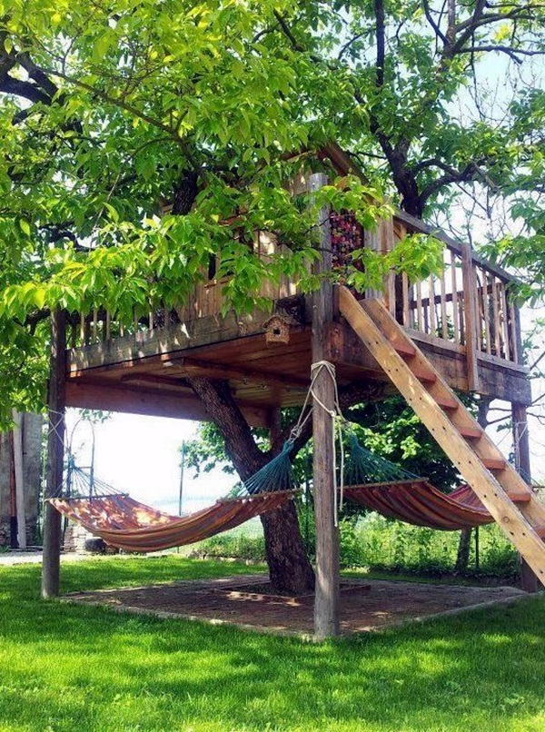 Chilling hammock Placement ideas to do it right (24)