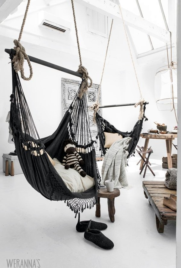 40 chilling hammock placement ideas to do it right bored art. Black Bedroom Furniture Sets. Home Design Ideas