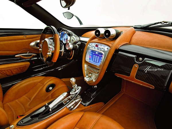 2011 Pagani Huayra Custom interior car design