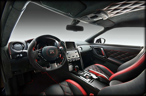 2012 Nissan GT-R by Vilner Studio Custom interior car design