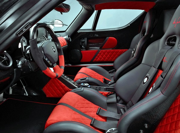 Custom interior car design