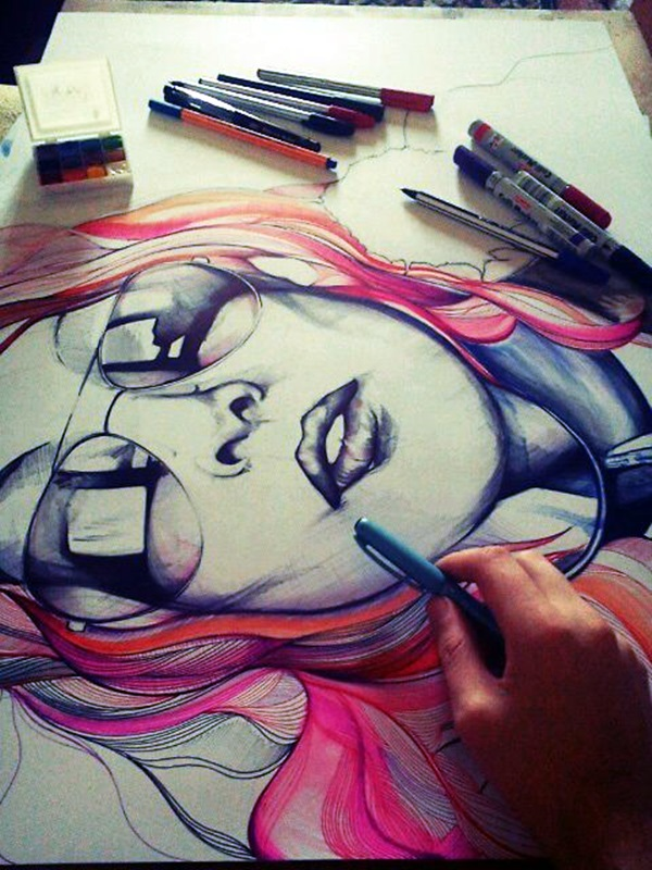 Just Some Amazing Hipster Drawing Ideas (23)