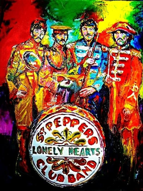 Lovely Beatles Artworks to Appreciate (16)
