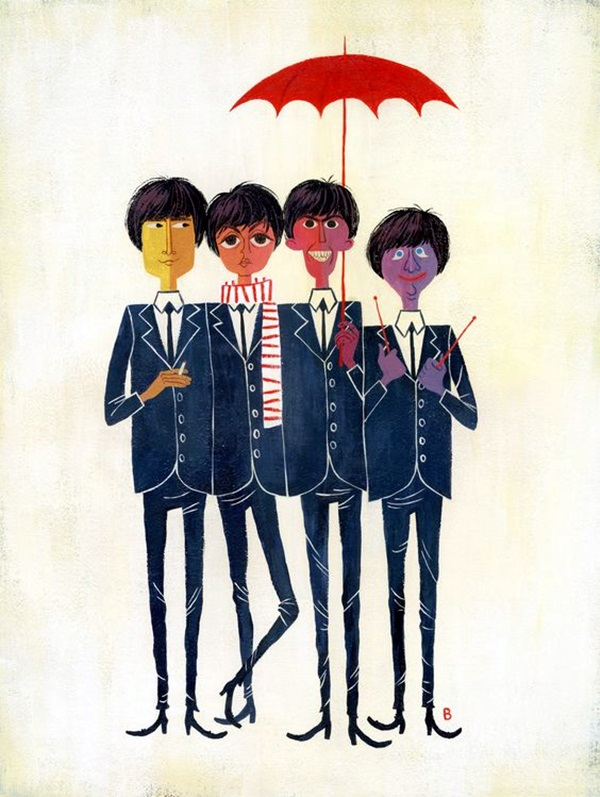 Lovely Beatles Artworks to Appreciate (37)