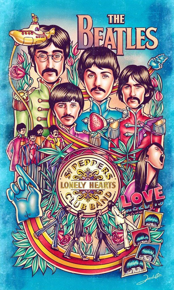 Lovely Beatles Artworks to Appreciate (38)