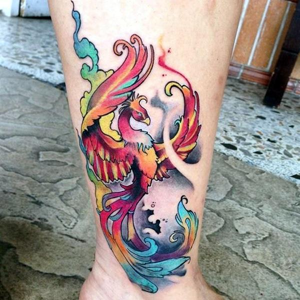New Phoenix Tattoo Designs For 2016 (19)