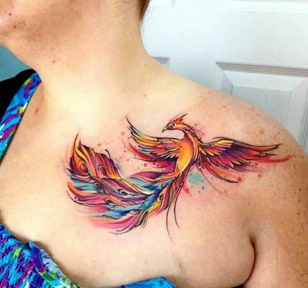New Phoenix Tattoo Designs For 2016 (29)