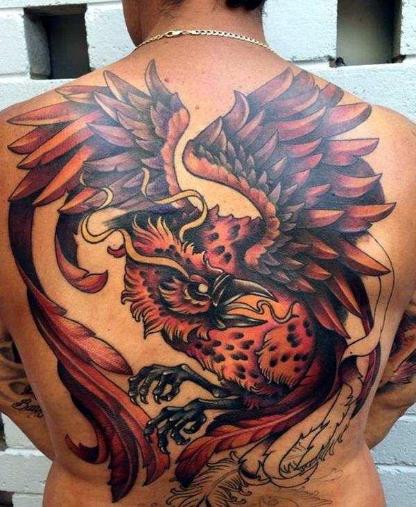 New Phoenix Tattoo Designs For 2016 (32)