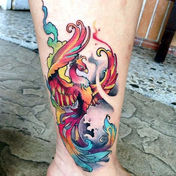 New Phoenix Tattoo Designs For 2016 (33)