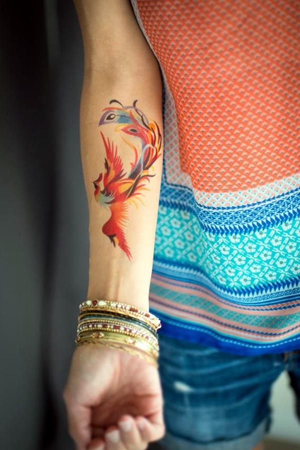 New Phoenix Tattoo Designs For 2016 (8)
