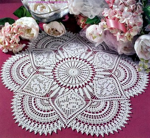 Pretty and Easy Crochet Doily for Beginners (15)