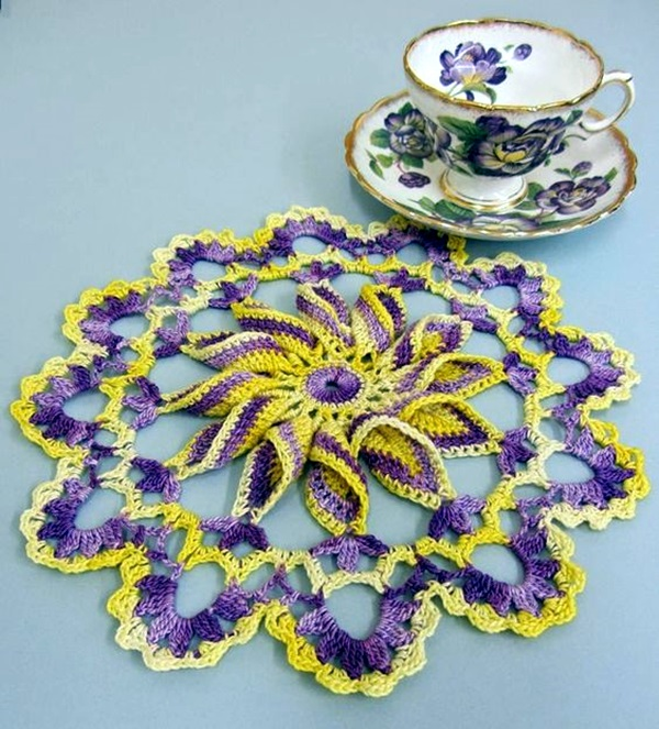 Pretty and Easy Crochet Doily for Beginners (21)