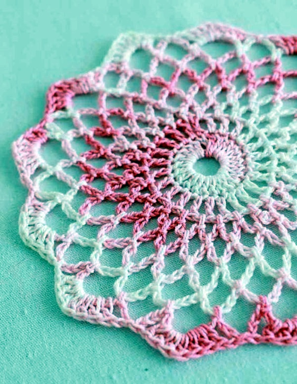 Pretty and Easy Crochet Doily for Beginners (22)
