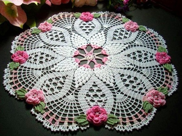 Pretty and Easy Crochet Doily for Beginners (24)