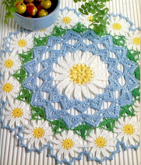 Pretty and Easy Crochet Doily for Beginners (25)