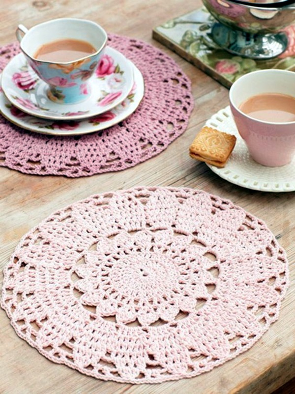 Pretty and Easy Crochet Doily for Beginners (28)