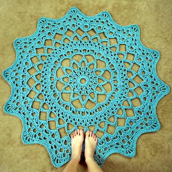 Pretty and Easy Crochet Doily for Beginners (34)