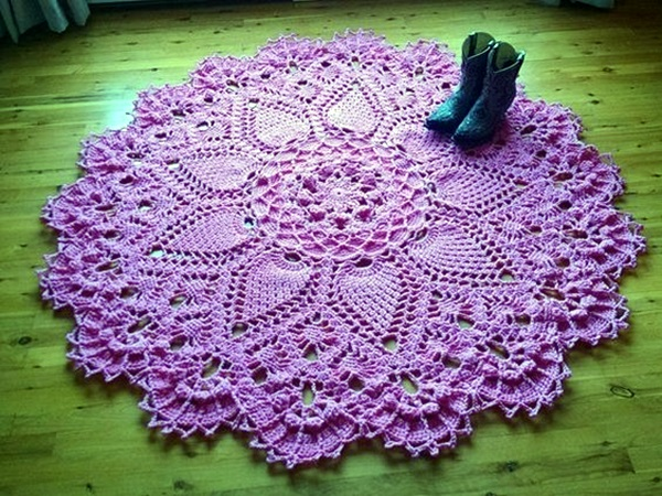 Pretty and Easy Crochet Doily for Beginners (38)