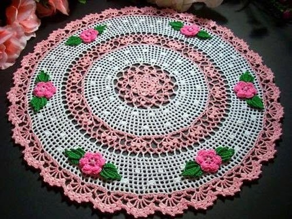 Pretty and Easy Crochet Doily for Beginners (39)