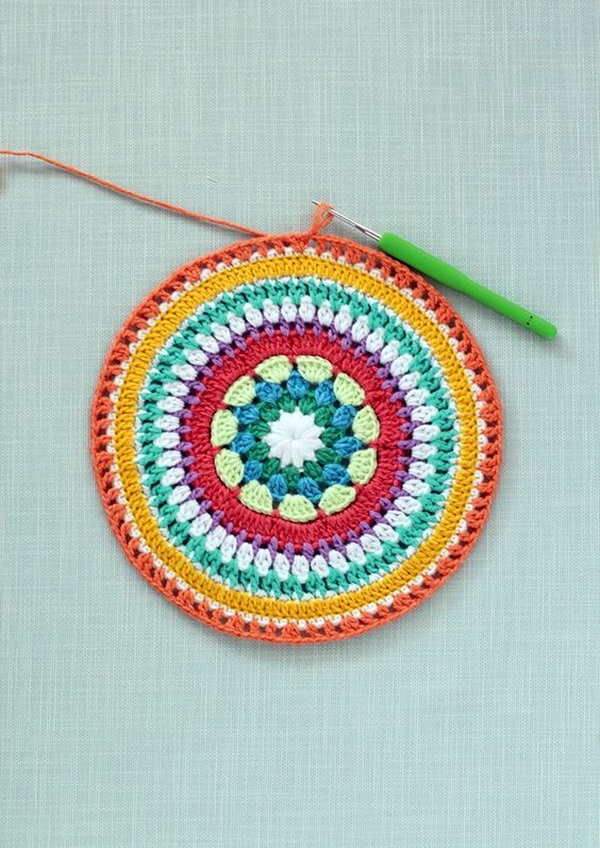 Pretty and Easy Crochet Doily for Beginners (4)