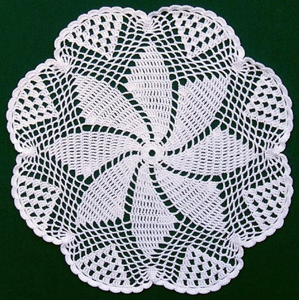 Pretty and Easy Crochet Doily for Beginners (40)