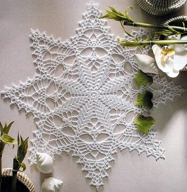 Pretty and Easy Crochet Doily for Beginners (41)