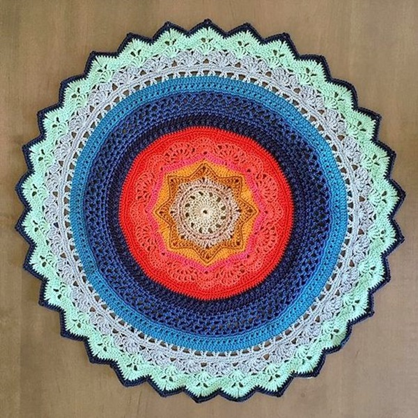 Pretty and Easy Crochet Doily for Beginners (42)