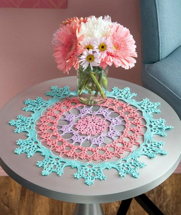 Pretty and Easy Crochet Doily for Beginners (5)