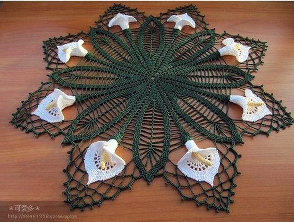 Pretty and Easy Crochet Doily for Beginners (6)