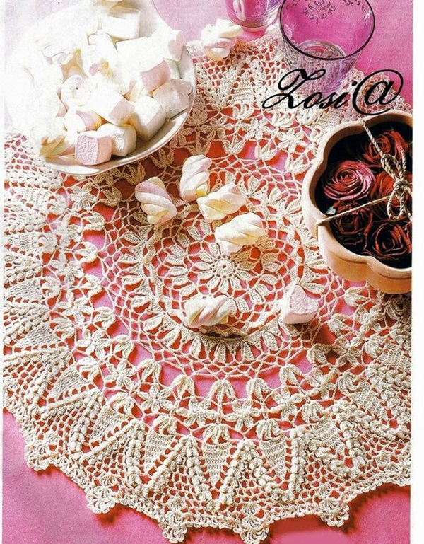 Pretty and Easy Crochet Doily for Beginners (8)