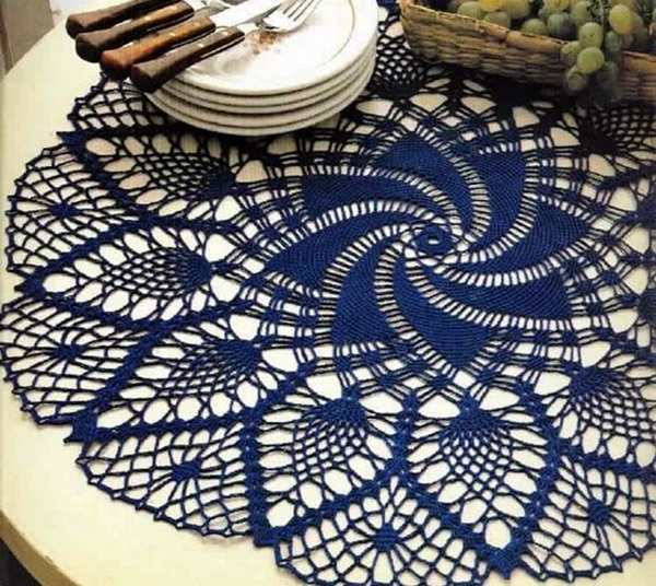 Pretty and Easy Crochet Doily for Beginners (9)