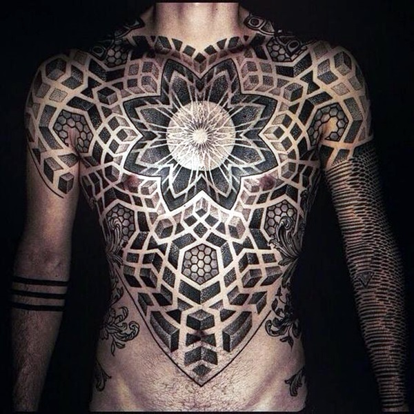 Sacred geometry Tattoo Ideas (10)