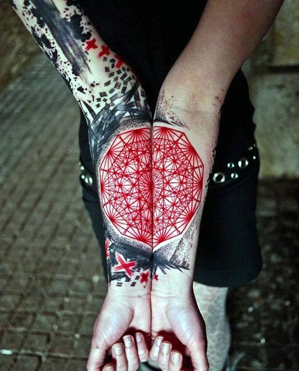Sacred geometry Tattoo Ideas (14)