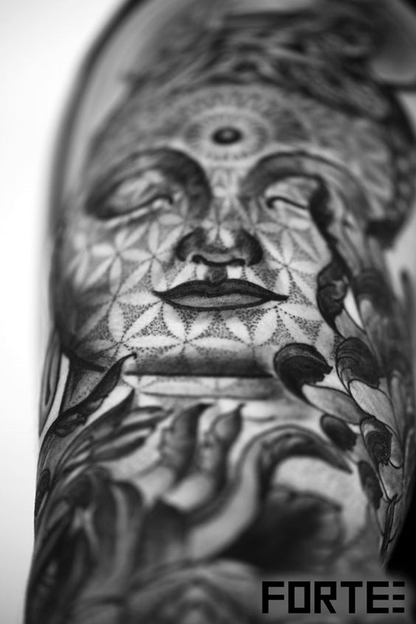 Sacred geometry Tattoo Ideas (18)