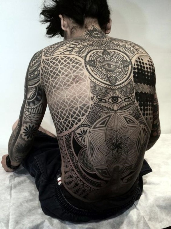 Sacred geometry Tattoo Ideas (22)