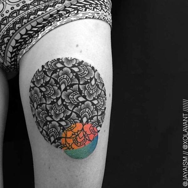 Sacred geometry Tattoo Ideas (3)