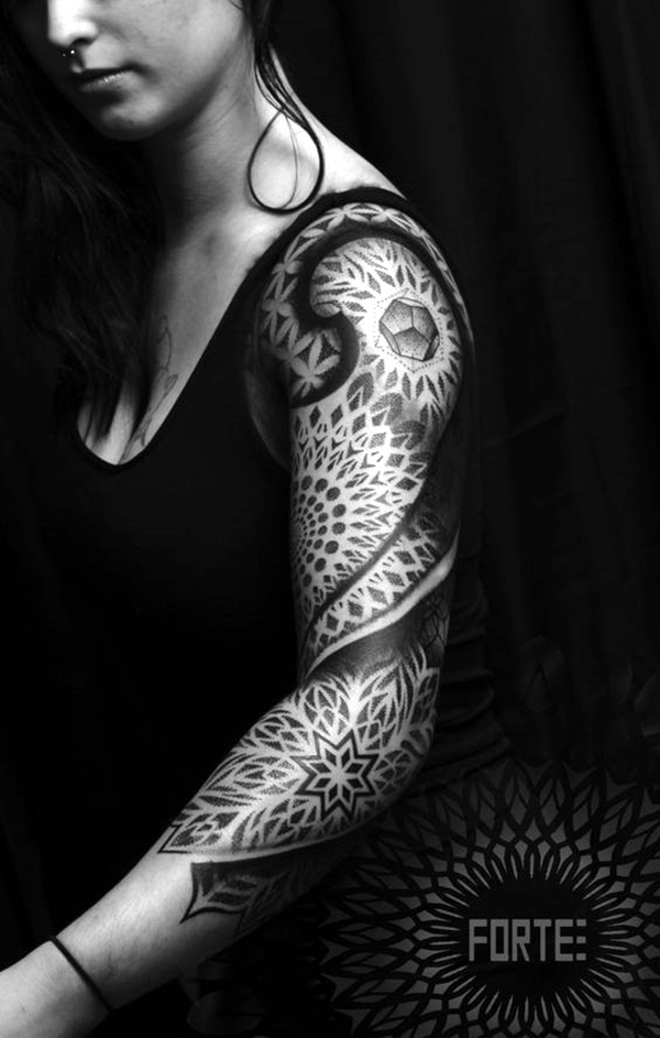 Sacred geometry Tattoo Ideas (30)