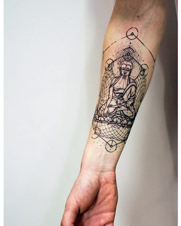 Sacred geometry Tattoo Ideas (37)