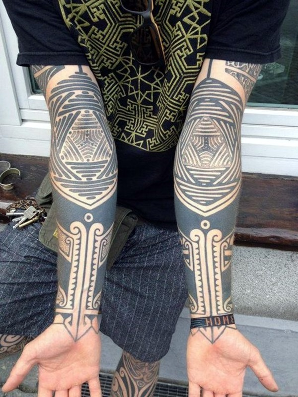 Sacred geometry Tattoo Ideas (40)