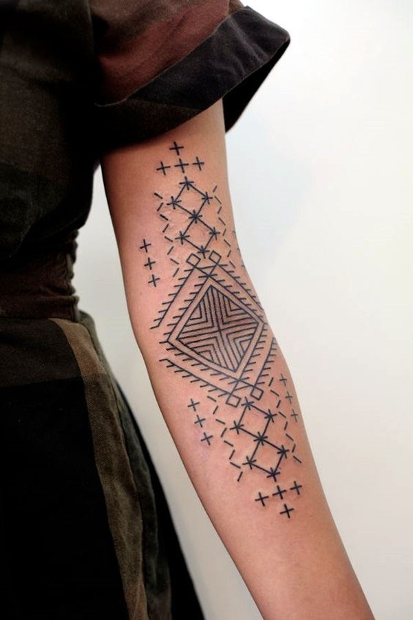 Sacred geometry Tattoo Ideas (41)