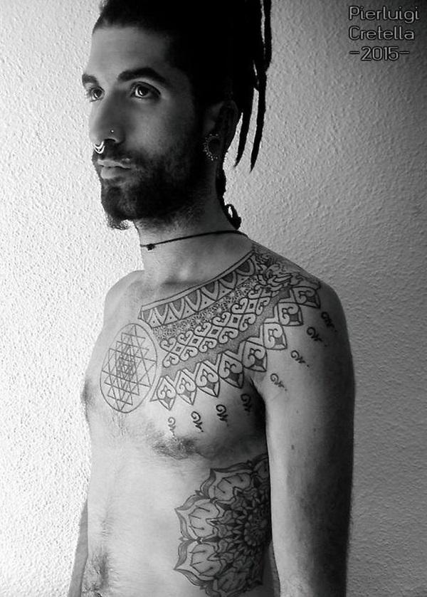 Sacred geometry Tattoo Ideas (43)