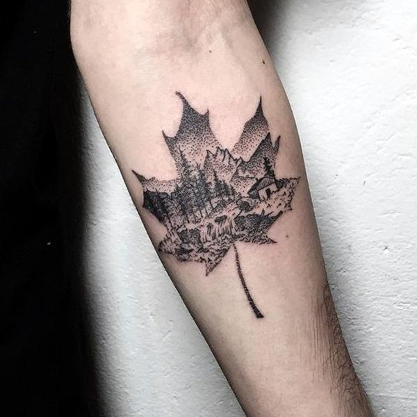 Sacred geometry Tattoo Ideas (44)