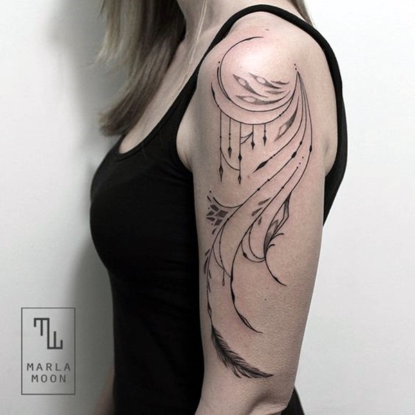 Sacred geometry Tattoo Ideas (45)