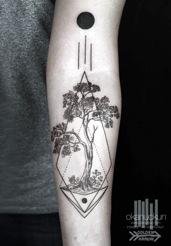 Sacred geometry Tattoo Ideas (5)