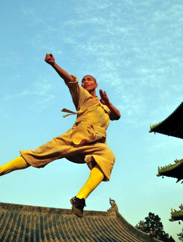 Shaolin monk Martial Art Demonstrations (23)