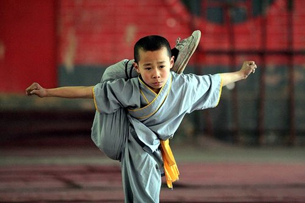 Shaolin monk Martial Art Demonstrations (40)