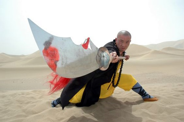 Shaolin monk Martial Art Demonstrations (9)