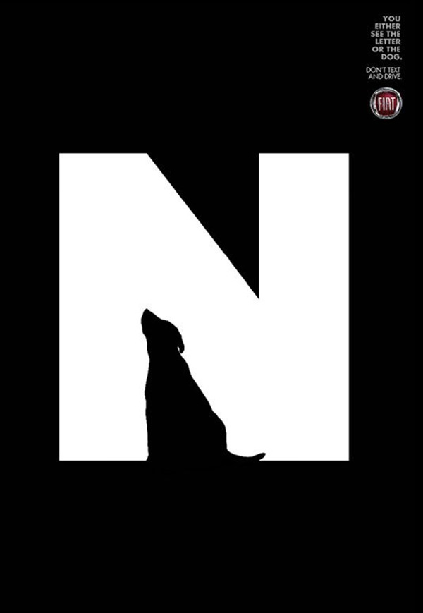 40 Surprisingly Genius Negative Space Art Examples Bored Art